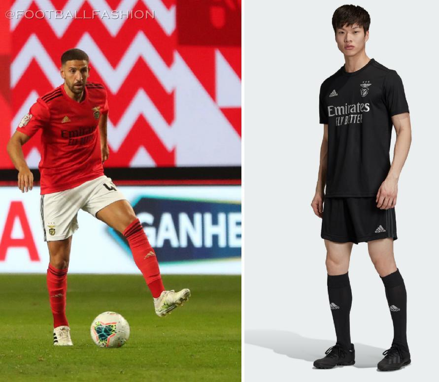 Benfica 2020/21 adidas Home and Away Kits - FOOTBALL FASHION