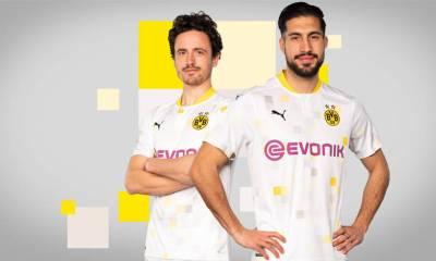 Borussia Dortmund 2020/21 PUMA Away Cup Football Kit, 2020-21 Soccer Jersey, 2020/21 Shirt, Trikot, Ausweichtrikot