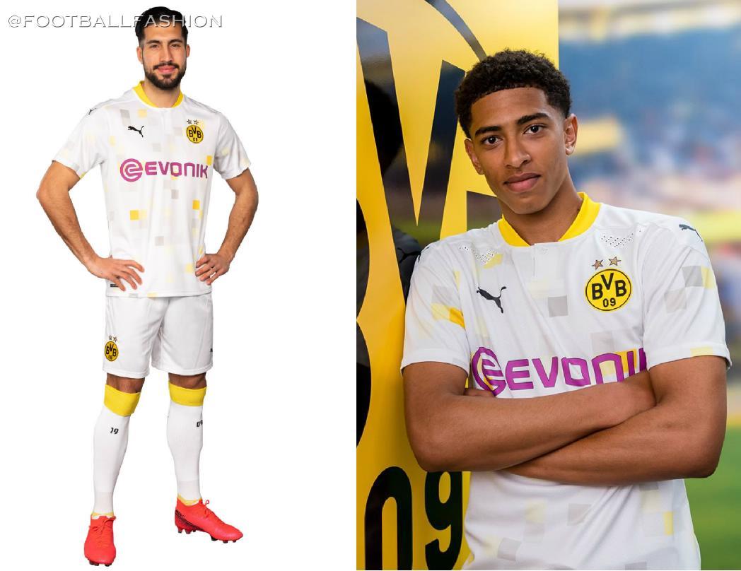 Borussia Dortmund 2020 21 Puma Away Cup Kit Football Fashion