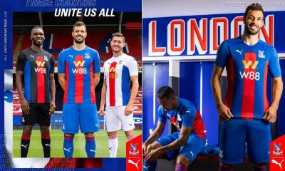 Crystal Palace 2020 2021 PUMA Home, Away and Third Football Kit, 2020/21 Soccer Jersey, 2020-21 Shirt