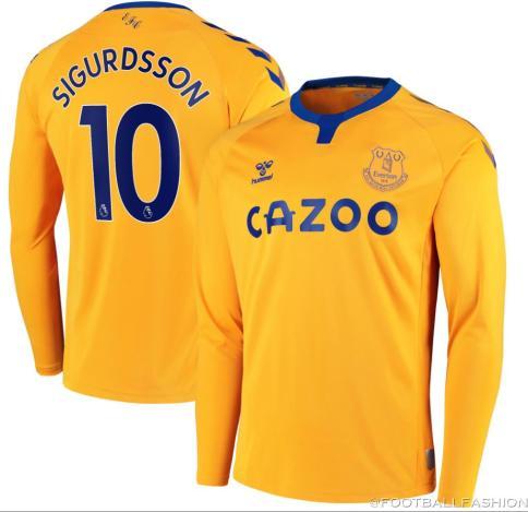 Everton FC 2020/21 hummel Away Kit - FOOTBALL FASHION.ORG