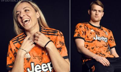 Juventus 2020/21 adidas Orange Third Football Kit, 2020-21 Shirt, 2020/21 Jersey, Maglia, Gara, Camiseta, Camisa, Trikot, Dres, Maillot