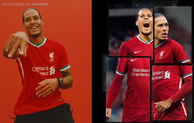 Liverpool FC 2020/21 Nike Home Football Kit, 2020-21 Soccer Jersey, 2020/21 Shirt, Camiseta, Camisa, Maillot, Trikot