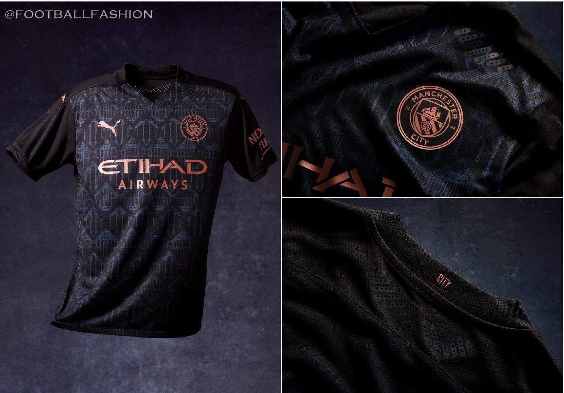 Manchester City 2020 21 Puma Away Kit Football Fashion Org