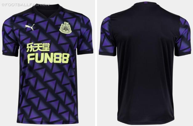 Newcastle United 2020 2021 PUMA Away and Third Football Kit, 2020-21 Soccer Jersey, 2020/21 Shirt, Maillot, Camisa, Camiseta