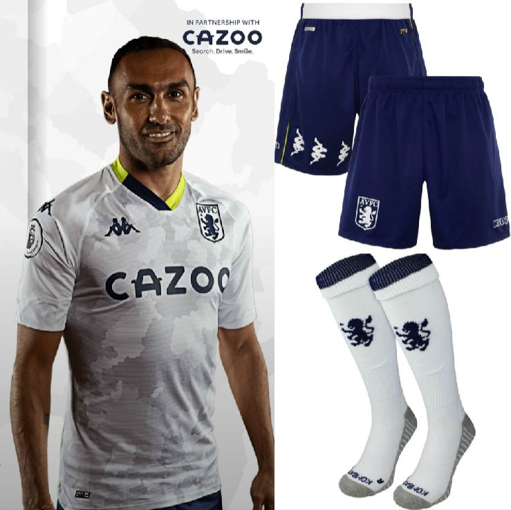 Aston Villa 2020 21 Kappa Third Kit Football Fashion Org