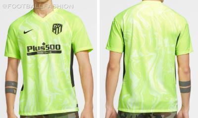 Atlético Madrid 2020 2021 Nike Third Football Kit, 2020-21 Soccer Jersey, Shirt, 2020/21 Camiseta de Futbol, Equipacion, Maillot, Trikot