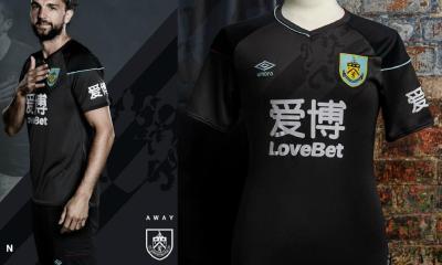 Burnley FC 2020 2021 Umbro Black Away Kit, 2020-21 Football Shirt, 2020/21 Soccer Jersey