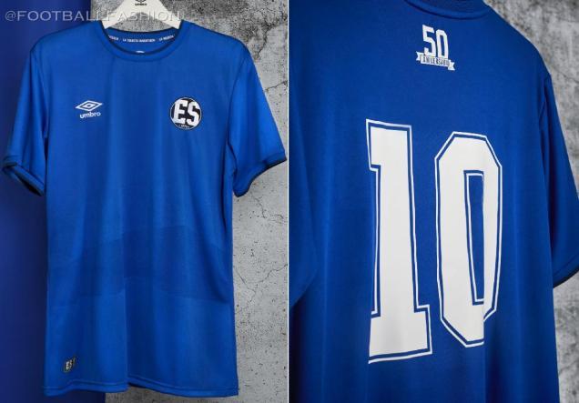 El Salvador 1970 World Cup 50th Anniversary Football Kit, 2020-21 Soccer Jersey, 2020/21 Shirt, Camiseta de Futbol, 50 aniversario Copa Mundial 1970