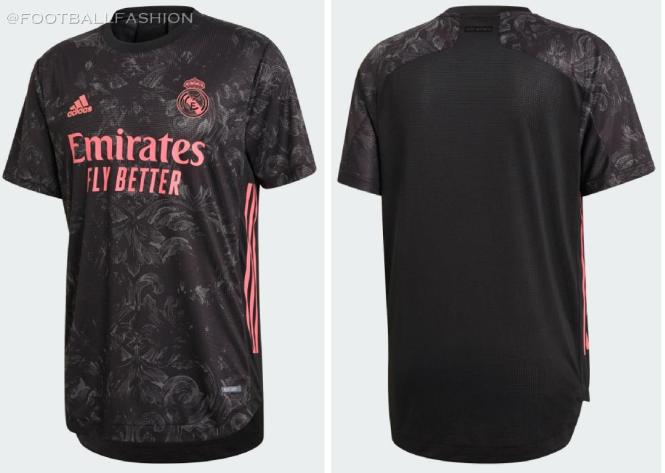 Real Madrid 2020/21 adidas Third Football Kit, 2020-21 Soccer Jersey, 2020/21 Shirt, Camiseta de Futbol, Camisa, Trikot, Maillot