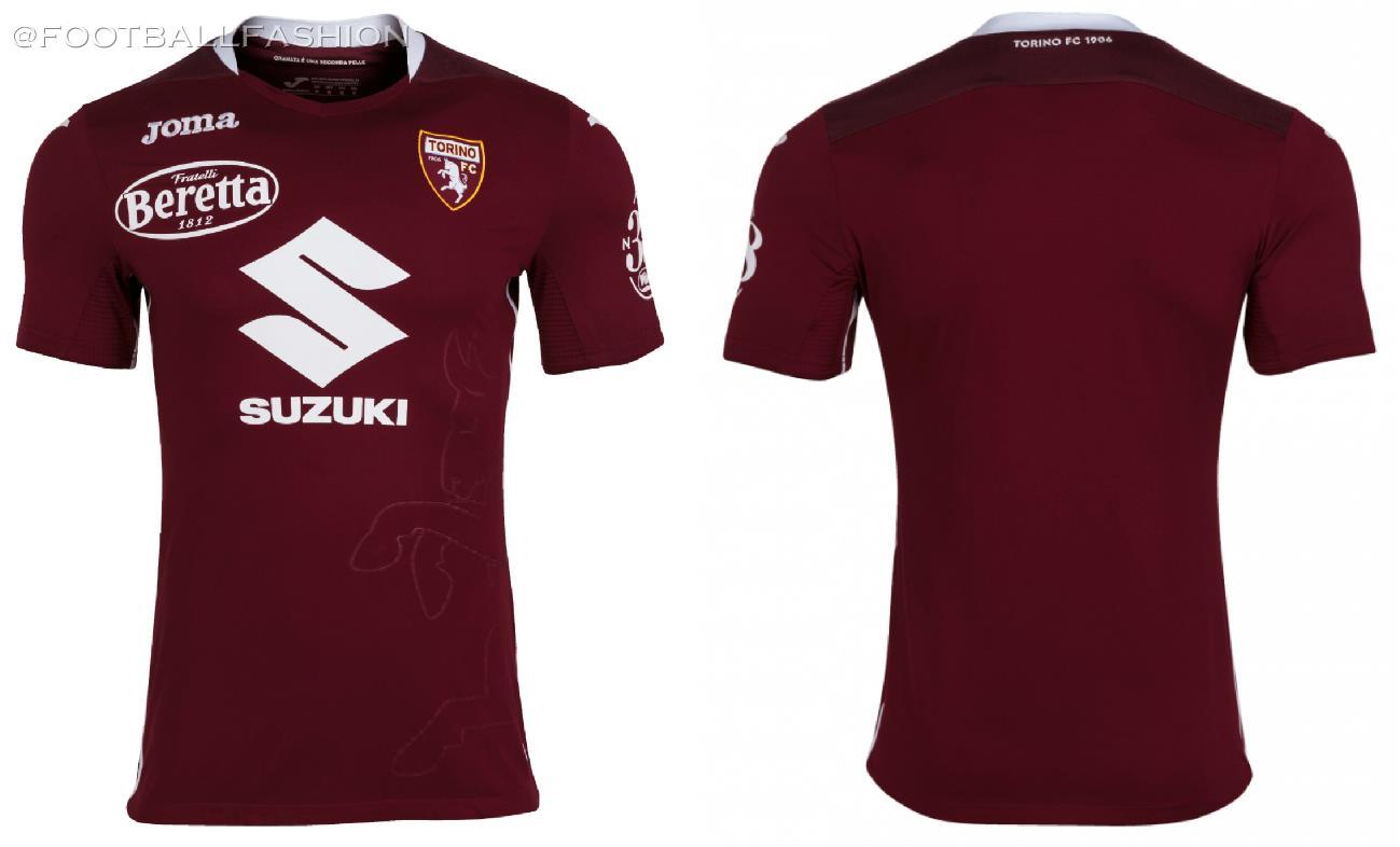 Torino FC 2020/21 Joma Home and Away Kits - FOOTBALL FASHION