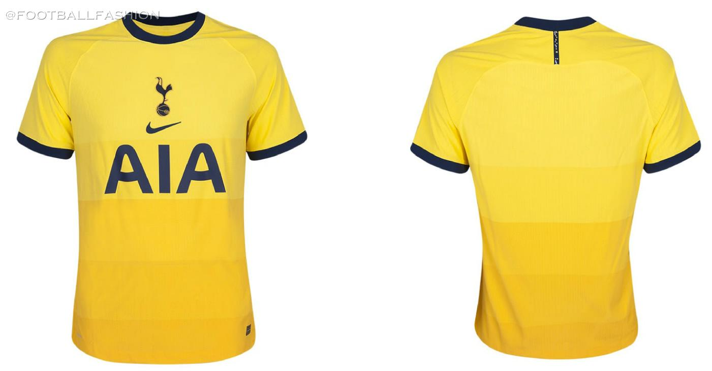 Tottenham Hotspur 2020 21 Nike Third Kit Football Fashion Org