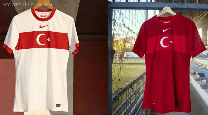 Turkey 2020 2021 Nike Home and Away Football Kit, 2020-21 Soccer Jersey, 2020/21 Shirt, Türkiye Forma, Erkek Futbol Forması