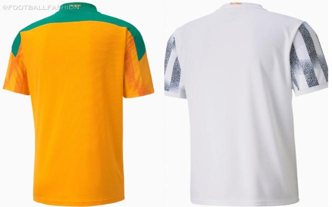 Ivory Coast 2020 2021 PUMA Home and Away Soccer Jersey, 2020-21 Football Kit, 2020./21 Shirt, Maillot  Côte d'Ivoire