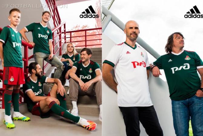 Lokomotiv Moscow 2020 2021 adidas Football Kit, 2020/21 Soccer Jersey, 2020-21 Shirt