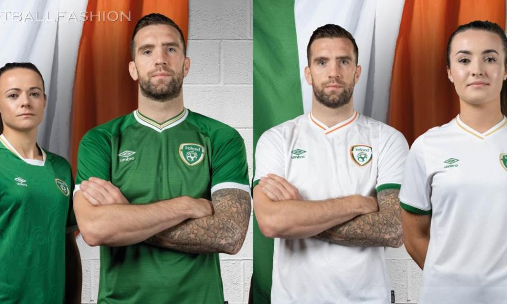 Republic of Ireland 2020 2021 Umbro Football Kit, 2020-21 Irish Shirt, 2020/21 Soccer Jersey