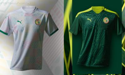 Senegal 2020 2021 PUMA Home and Away Football Kit, 2020-21 Shirt, 2020/21 Soccer Jersey, Maillot