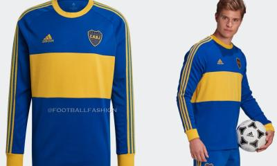 Boca Juniors 1980s-Inspired 2020/21 adidas Icons Retro Football Kit, 2020-21 Soccer Jersey, 2020/21 Shirt, Camiseta de Futbol