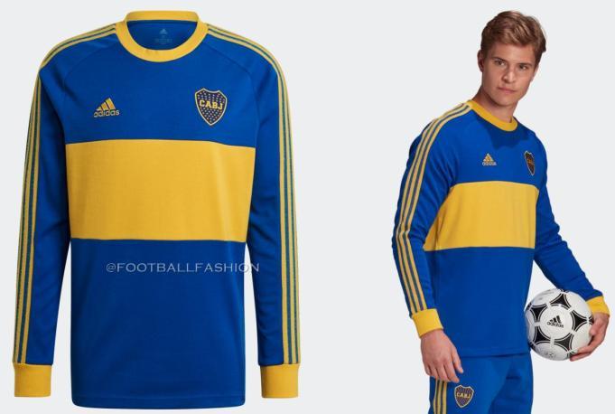 Boca Juniors 1980s-Inspired 2020/21 adidas Icons  Retro Football Kit, 2020-21 Soccer Jersey, 2020/21 Shirt, Camiseta de Futbol