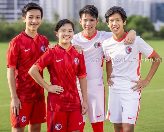 Hong Kong 2021 Nike Home and Away Football Kit, Soccer Jersey, Shirt