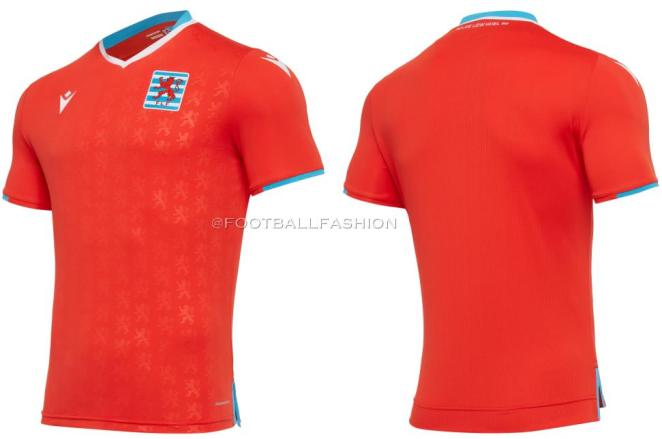 Luxembourg 2020 2021 Macron Home and Away Football KIt, 2020-21 Soccer Jersey, 2020/21 Shirt, Maillot