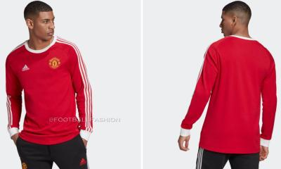 Manchester United 2020 2021 adidas Icons Retro Soccer Jersey, 2020-21 Football Kit, 2020/21 Shirt