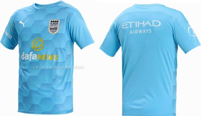 Mumbai City FC 2020 2021 PUMA Home and Away Football Kit, 2020-21 Shirt, 2020/21 ISL Shirt