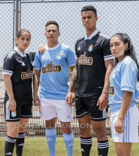 adidas Peru has revealed the 2021 home and away jerseys for reigning Liga 1 champions Sporting Cristal.