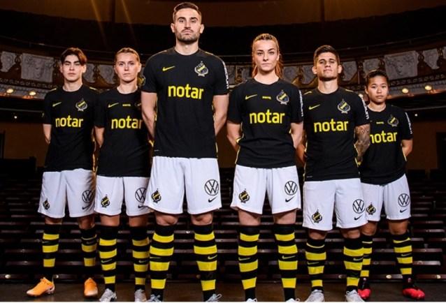 AIK Fotboll 2021 2022 Nike Home Soccer Jersey, Shirt, Kit, Matchtröjan