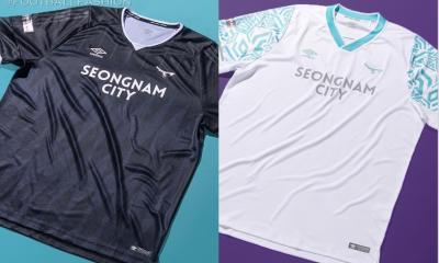 Seongnam FC 2021 Umbro Home and Away Football Kit, Soccer Jersey, Shirt