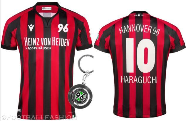 Hannover 96 125th Anniversary Macron Football Kit, Soccer Jersey, Shirt, Trikot, Sondertrikot, 125 Jahre Jubiläumstrikot
