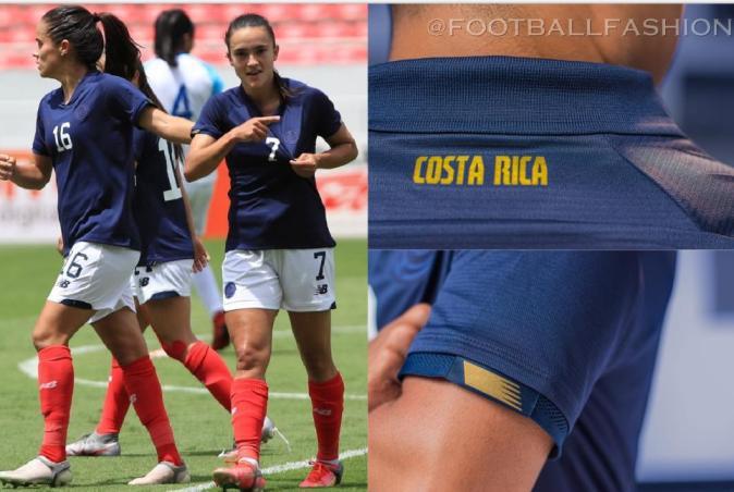 Costa Rica 2021 2022 New Balance Soccer Jersey, 2021-22 Shirt, 2021/22 Football Kit, Camiseta de Futbol Centenario