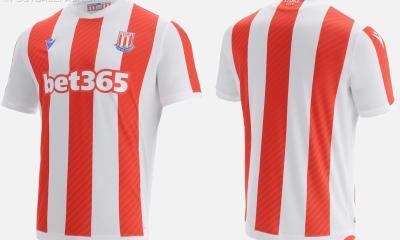 Stoke City 2021 2022 Macron Home Football Kit, 2021-22 Soccer Jersey, 2021/22 Shirt
