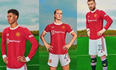 Manchester United 2021 2022 adidas Home Football Kit, 2021-22 Shirt, 2021/22 Soccer Jersey, Maillot, Camiseta 21/22, Camisa 21-22, Trikot