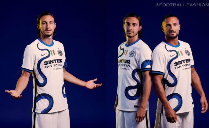 Inter Milan 2021 2022 Nike Snake Away Football Kit, Soccer Jersey, 2021-22 Shirt, 2021/22 Maglia, Camisa 21-22, Camiseta 21/22