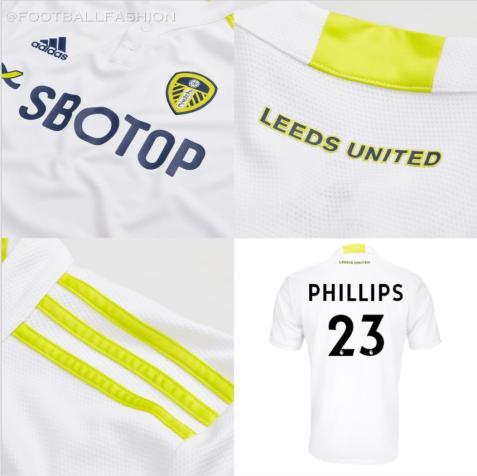 Leeds United 2021 2022 adidas Home Football Kit, 2021-22 Soccer Jersey, 2021/22 Shirt, Camiseta 21-22