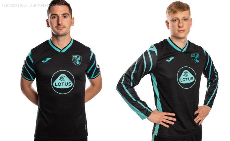 Norwich City 2021 2022 Joma Away Football Kit, 2021-22 Soccer Jersey, 2021/22 Shirt, Camiseta 21-22, 21/22 Trikot