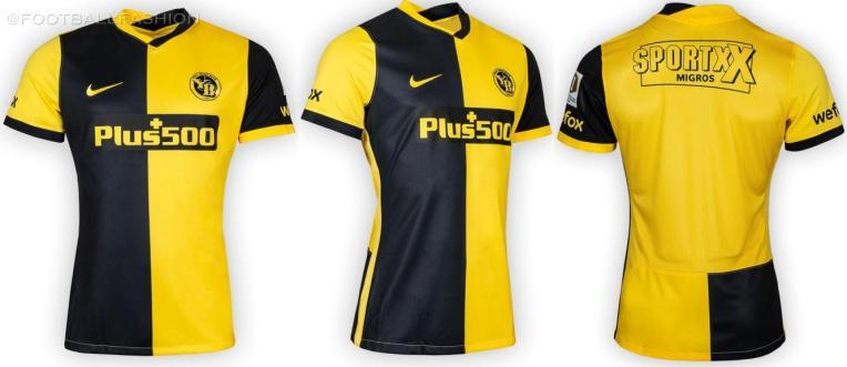 BSC Young Boys 2021 2022 Nike Home and Away Football Kit, 2021-22 Soccer Jersey, 2021/22 Shirt, 21-22 Trikot