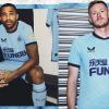 Newcastle United 2021 2022 Castore Blue Third Football Kit, 2021-22 Soccer Jersey, 2021/22 Shirt, Camiseta 21-22, Maillot 21/22, Trikot, Maglia