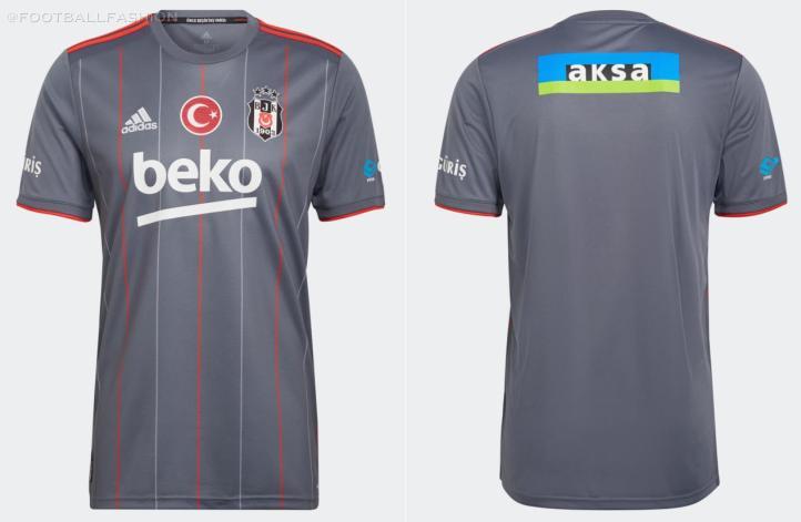 Beşiktaş JK 2021 2022 Anniversary 2021 /22 Football Kit, Forma, 2021-22 Shirt, 21-22 Soccer Jersey