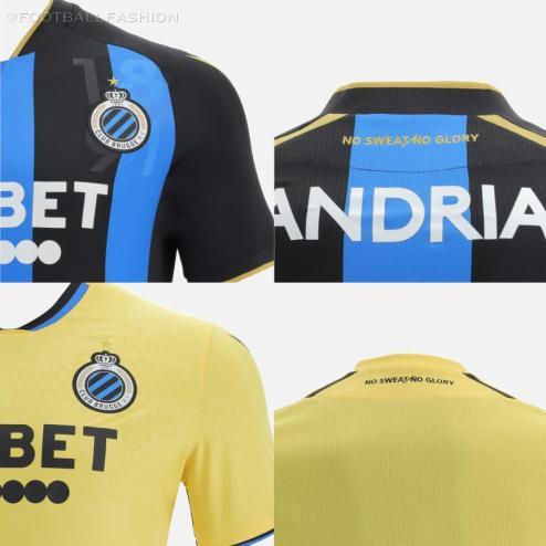 Club Brugge 2021 2022 Macron Football Shirt, 2021-22 Soccer Jersey, 2021/22 Kit, Tenue, Maillot 21-22
