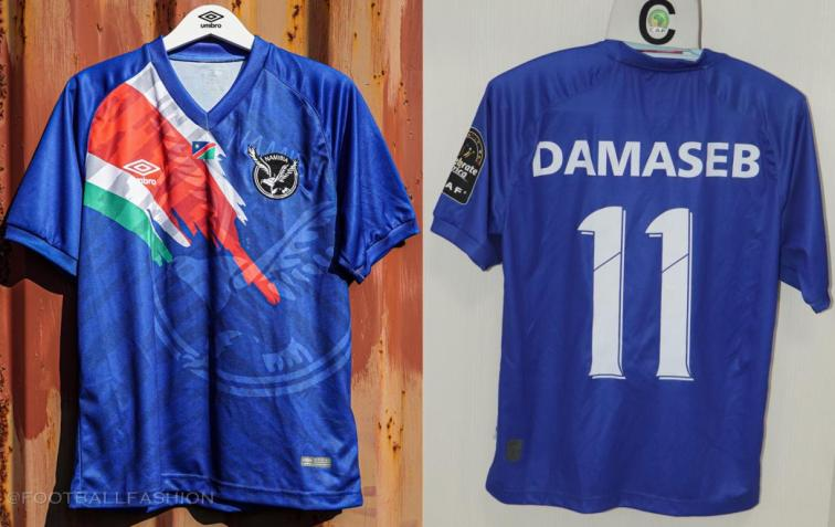 Namibia 2021 2022 Umbro Home, Away and Third Football Kit, 2021-22 Soccer Jersey, 2021/22 Shirt