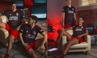 River Plate 2021 2022 adidas Away Football Kit, 2021-22 Soccer Jersey, 2021/22 Shirt, Camiseta de Futbol 21-22