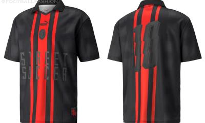 AC Milan 2021 2022 PUMA Street Soccer Jersey, 2021-22 Football Kit, 2021/22 Shirt, Maglia 21-22, Camiseta 21/22