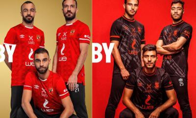 Al Ahly SC 2021 2022 Umbro Home and Away Football Kit, 2021/22 Soccer Jersey, 2021-22 Shirt