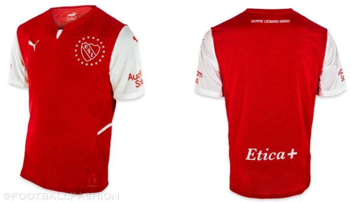 Club Atlético Independiente 2021 2022 PUMA Home Football Kit, 2021-22 Soccer Jersey, 2021/22 Shirt, Camiseta 21/22