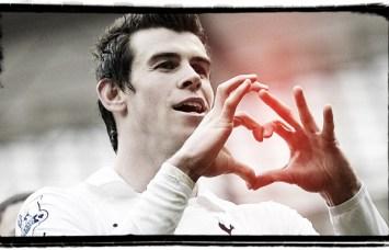 Gareth Bale Tottenham Spurs Heart