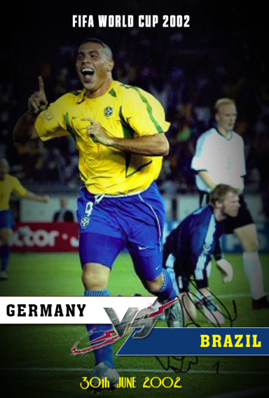 Full match: Germany vs Brazil 2002