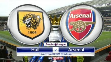 Full match: Hull City vs Arsenal
