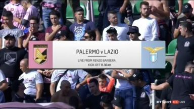 Full match: Palermo vs Lazio